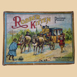 Parker Bros. Robber Kitten Puzzles