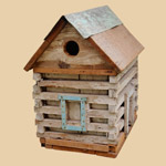 Old Folk Art Birdhouse