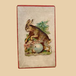 Miniature Box with Rabbit