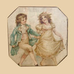 19th C Box with Children