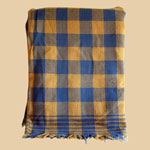 Early Blue/Mustard Pennsylvania Coverlet