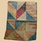 Late 19th C Doll Quilt
