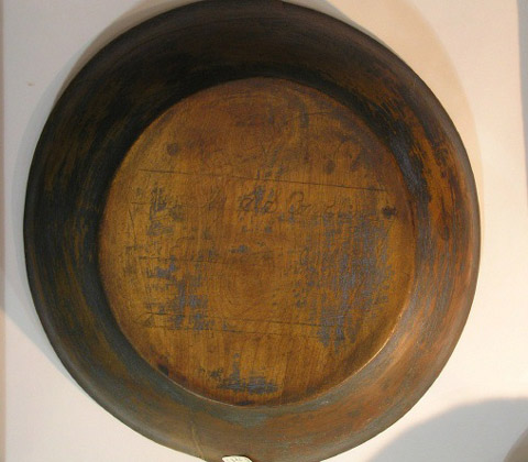 Early Bowl with Cartouche