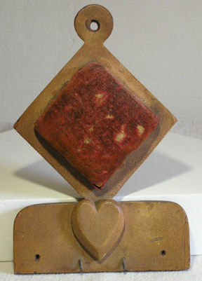 Late 19th C Pin Cushion with Heart