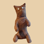 Late 19th C Amish Cloth Cat