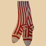 Fabulous 19th C Hand-made Women's Socks
