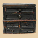 Primitive Set of Drawers