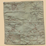 19th C Doll Berks County Doll Quilt