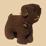 Early 20th C Mennonite Cloth Dog