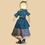 19th C Cloth Doll